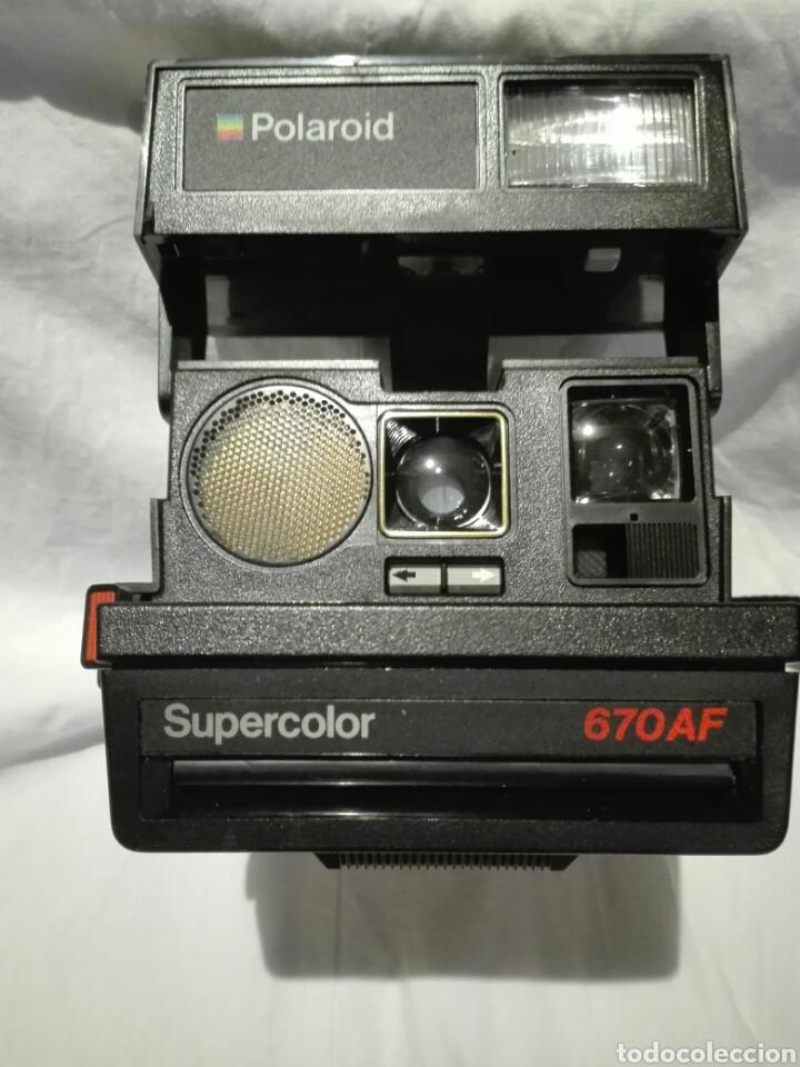 CÁMARA DE FOTOS POLAROID SUPERCOLOR 670 AF (Cámaras Fotográficas - Clásicas (no réflex))