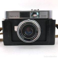 Cámara de fotos: KODAK RETINA S2 CAMARA DE FOTOS CLASICA MADE IN GERMANY 1966 ROEMAR F 2,8-45MM SCHNEIDER - KREUZNACH. Lote 132422870