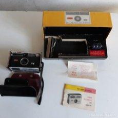Cámara de fotos: KODAK INSTAMATIC 100, CON FUNDA Y CAJA ORIGINAL. Lote 132717350