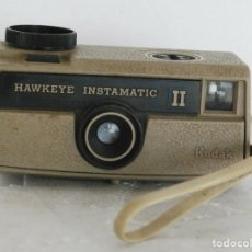 Cámara de fotos: ANTIGUA CAMARA FOTOS - KODAK HAWKEYE INSTAMATIC II - MADE IN USA 1969. Lote 133586958