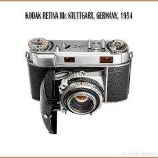 Cámara de fotos: KODAK RETINA IIIC. TELEMÉTRICA ALEMANA DE 1954. EN BUENAS CONDICIONES.. Lote 133809186