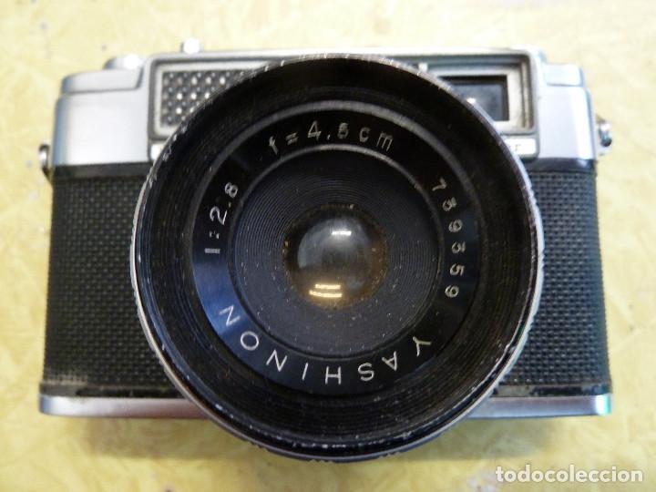 Cámara de fotos: CAMARA DE FOTOS YASHICA MINISTER CON FUNDA ORIGINAL - Foto 4 - 133921222