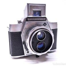 Cámara de fotos - Excepcional Agfa Flexilette. Cámara TLR 35mm. - 134610894
