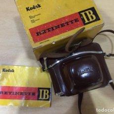Cámara de fotos: KODAK TETINETTE IB. Lote 135186202