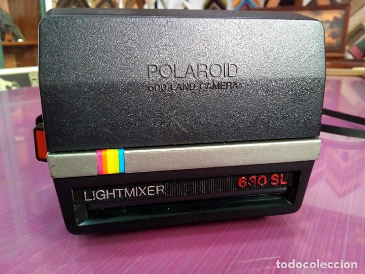 Cámara de fotos: Bonita camara Polaroid 600 land - Foto 2 - 135393242