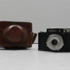 Cámara de fotos: ANTIGUA CAMARA SMENA 2 BAQUELITA FUNDA AÑOS 40-50 RUSIA USSR. Lote 135730279