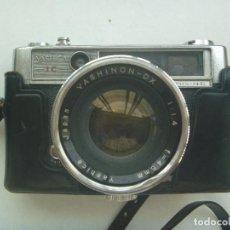 Cámara de fotos: CAMARA DE FOTOS MARCA YASHICA , IC , LYNX - 14 E . CON SU FUNDA. Lote 136139850