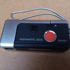 Cámara de fotos: CAMARA AGFAMATIC 2000 POCKET. Lote 136255494