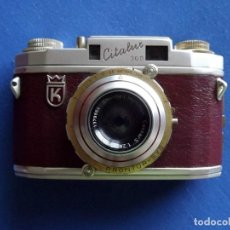 Cámara de fotos: CÁMARA KING REGULA CITALUX AÑO 1956 BAÑADA EN ORO, DIFÍCIL DE ENCONTRAR. Lote 136821394