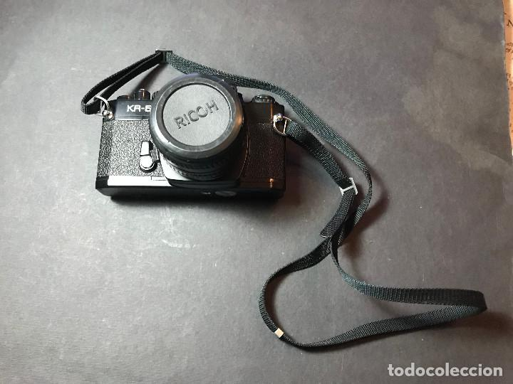 CÁMARA ANALÓGICA JAPONESA RICOH KR-5 (Cámaras Fotográficas - Clásicas (no réflex))