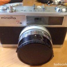 Cámara de fotos: CAMARA MINOLTA 7S HI-MATIC. Lote 137327746