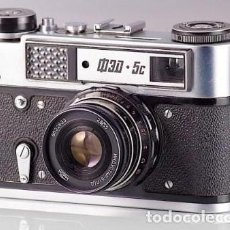 Cámara de fotos: CAMARA SOVIETICA FED 5C. Lote 136326838