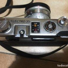Cámara de fotos: CÁMARA YASHICA ELECTRO 35 GSN CON FUNDA. Lote 137445185