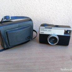 Cámara de fotos: CÁMARA DE FOTOS KODAK INSTAMATIC 133-X CON FUNDA FUNCIONANDO . Lote 138633850