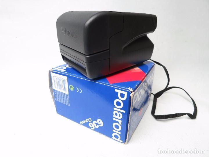 Cámara de fotos: Antigua Polaroid modelo 636 Close Up - Foto 2 - 139115050