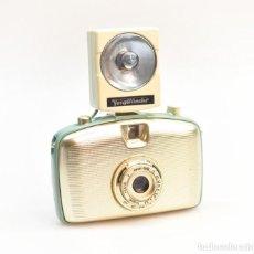 "Cámara de fotos: ZEISS IKON VEB PENTI ""AQUA GOLD"". CÁMARA MINIATURA DE 35MM. 1959. Lote 139502970"