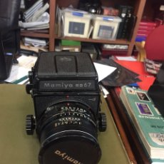 Cámara de fotos: MAMIYA SLR 6X7 RB67 PRO S + 90MM C 120 WL FINDER GRIP CLA. Lote 139662220