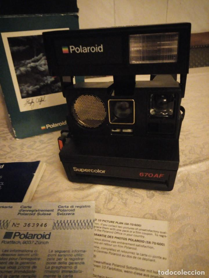 Cámara de fotos: polaroid supercolor 670 af - Foto 2 - 140316750