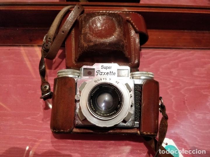 Cámara de fotos: Camara con telemetro 35mm Super Paxette Cassarit con funda original - Foto 2 - 37121671
