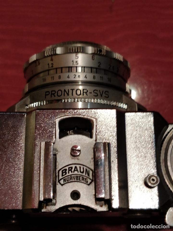 Cámara de fotos: Camara con telemetro 35mm Super Paxette Cassarit con funda original - Foto 5 - 37121671