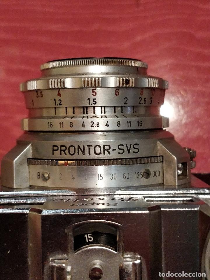 Cámara de fotos: Camara con telemetro 35mm Super Paxette Cassarit con funda original - Foto 6 - 37121671