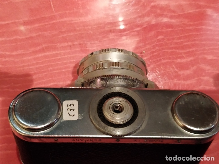 Cámara de fotos: Camara con telemetro 35mm Super Paxette Cassarit con funda original - Foto 8 - 37121671
