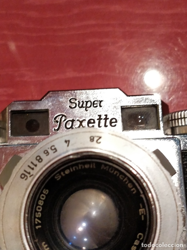 Cámara de fotos: Camara con telemetro 35mm Super Paxette Cassarit con funda original - Foto 11 - 37121671
