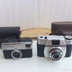 Cámara de fotos: DOS CAMARAS FOTOGRAFICAS - KODAK INSTAMATIC 133-X Y VIKING CON OBJETIVO ACROMATICO. Lote 174855687