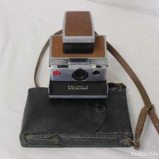 Cámara de fotos - POLAROID SX-70 LAND CAMERA CON FUNDA ORIGINAL. - 142171438