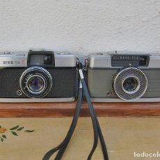 Cámara de fotos: LOTE DE 2 CAMARAS OLYMPUS PEN - S Y OLYMPUS EE. Lote 142312194