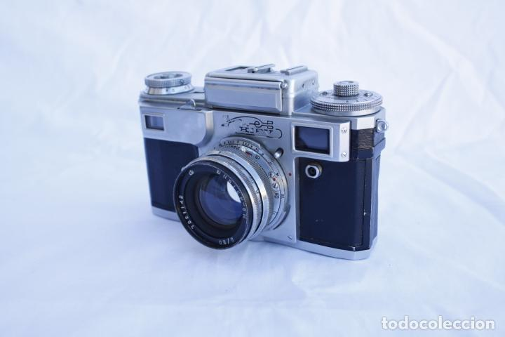 Cámara de fotos: Cámara telemétrica de colección - KIEV 4 - año 1972 - Foto 2 - 147062402