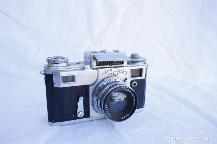 Cámara de fotos: Cámara telemétrica de colección - KIEV 4 - año 1972 - Foto 7 - 147062402