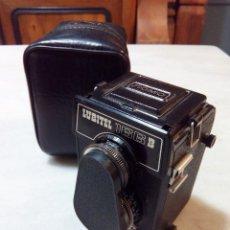 Cámara de fotos: CÁMARA LUBITEL 166B, CON FUNDA. Lote 142487822