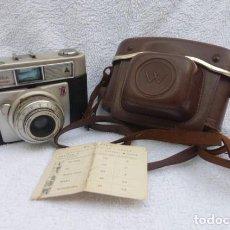 Cámara de fotos: CAMARA WERLISA COLOR... CON ESTUCHE..FUNCIONANDO..AÑOS 60-70..FABRICADA POR CERTEX, BARCELONA.. Lote 142602202