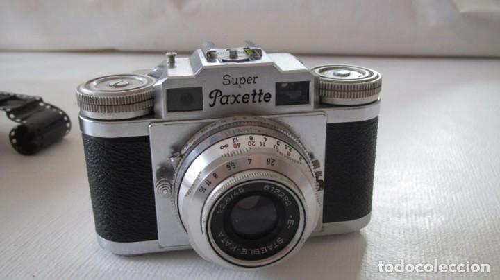 SUPER PAXETTE (Cámaras Fotográficas - Clásicas (no réflex))