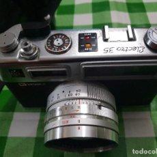 Cámara de fotos: CAMARA VINTAGE YASHICA ELECTRO 35. MADE IN JAPAN. Lote 142917794