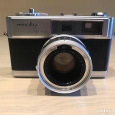 Cámara de fotos: MINOLTA HI-MATIC 9 F1,7 45MM. Lote 143044996