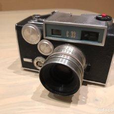 Cámara de fotos: ARGUS C33 1960 FUNCIONA. Lote 143080366