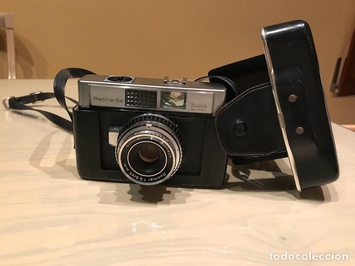 KODAK RETINA S2 CON FUNDA FUNCIONA (Kameras - Klassische Kameras (keine Spiegelreflex))