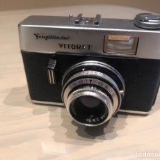 Cámara de fotos: VOIGTLANDER VITORET CON FUNDA FUNCIONA. Lote 143158844