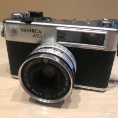 Cámara de fotos: YASHICA MG1 FUNCIONA. Lote 143159346