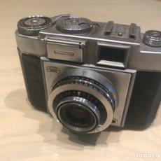 Cámara de fotos: ZEISS IKON VINTAGE F2,8 CON FUNDA FUNCIONA. Lote 143160740
