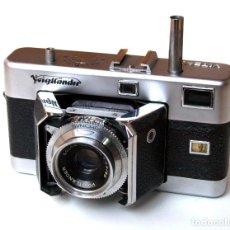 Cámara de fotos - *c1955* • Voigtländer VITESSA ' N ' TELEMÉTRICA Skopar f3.5 • SYNCHRO-COMPUR folding 35 (Funda) - 143846642