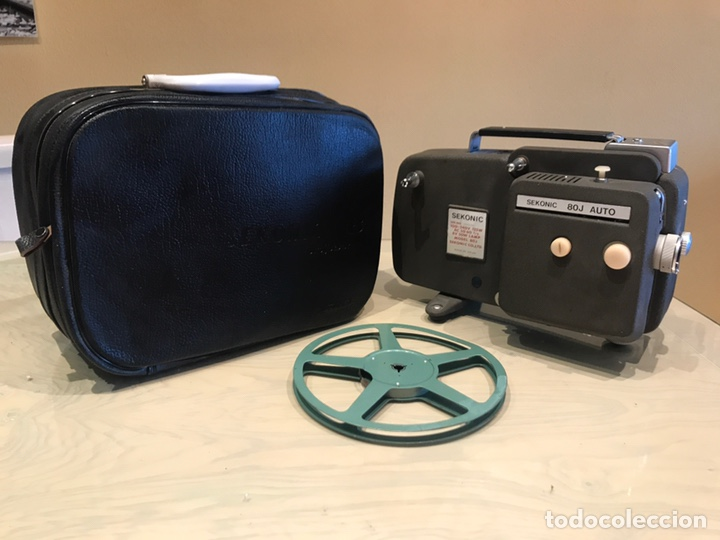 Cámara de fotos: Sekonic 80 l proyector 8mm con maletin - Foto 3 - 143887926