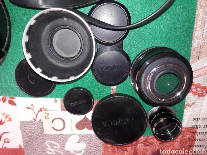 Cámara de fotos: YASHICA MAT 124 G.NUM DE SERIE.310****.1970/71.COMO NUEVA.MUY CUIDADA.COMPLETA Y ACCESORIOS.LENTES. - Foto 8 - 145663174