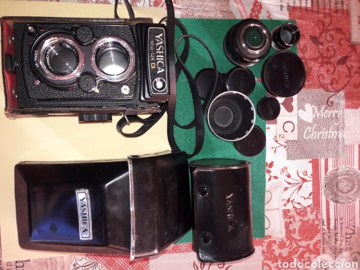 Cámara de fotos: YASHICA MAT 124 G.NUM DE SERIE.310****.1970/71.COMO NUEVA.MUY CUIDADA.COMPLETA Y ACCESORIOS.LENTES. - Foto 9 - 145663174