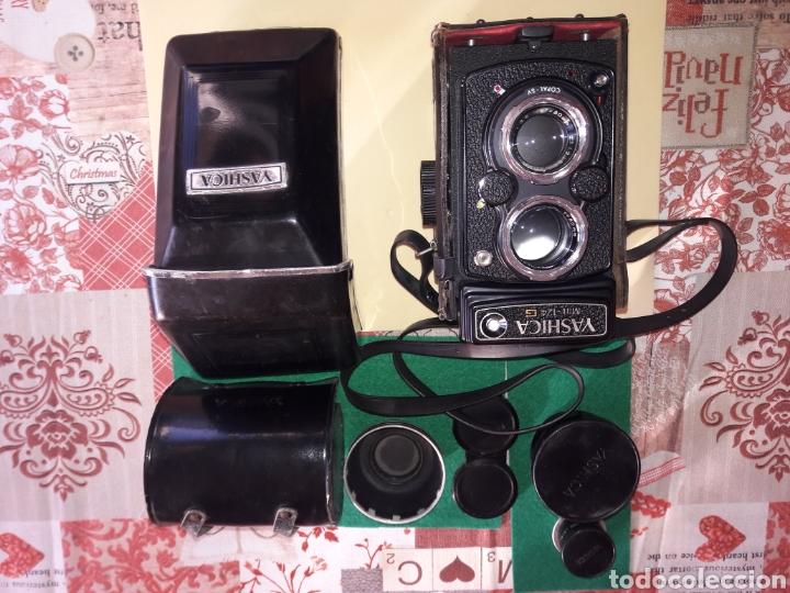Cámara de fotos: YASHICA MAT 124 G.NUM DE SERIE.310****.1970/71.COMO NUEVA.MUY CUIDADA.COMPLETA Y ACCESORIOS.LENTES. - Foto 15 - 145663174