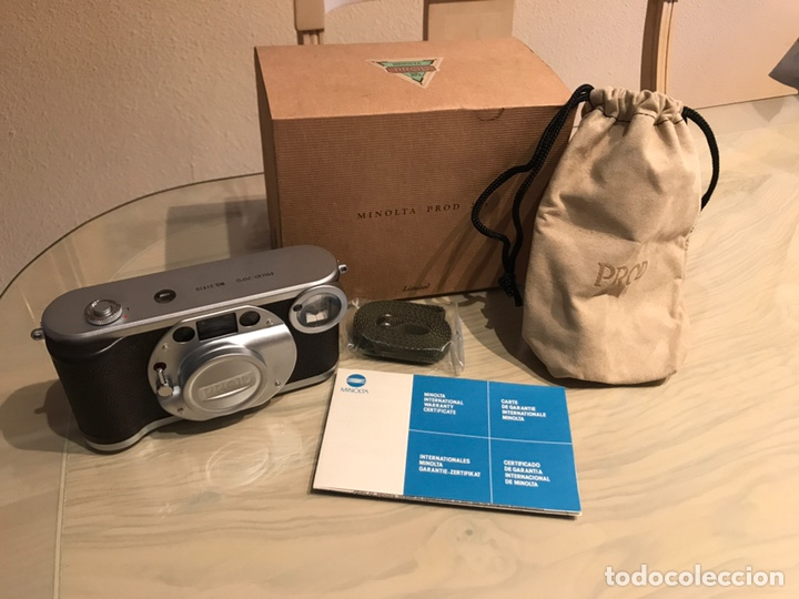 MINOLTA PROD 20,S NUEVA A ESTRENAR CON SU FUNDA Y CORREA (Cameras - Classic Cameras (non-reflex))