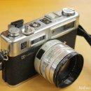 Cámara de fotos: CAMARA JAPONESA YASHICA ELECTRO 35 GSN. CON SU ESTUCHE ORIGINAL. Lote 146500114