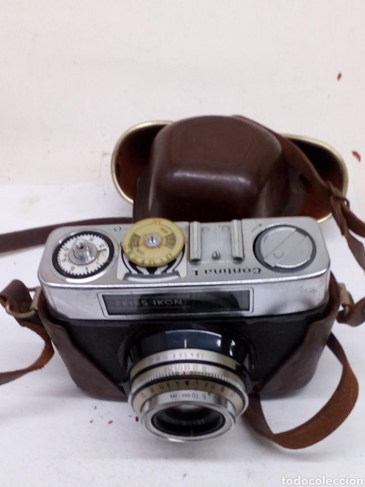 CAMARA ZEIS IKON EN SU ESTUCHE PARA ARREGLAR (Cameras - Classic Cameras (non-reflex))